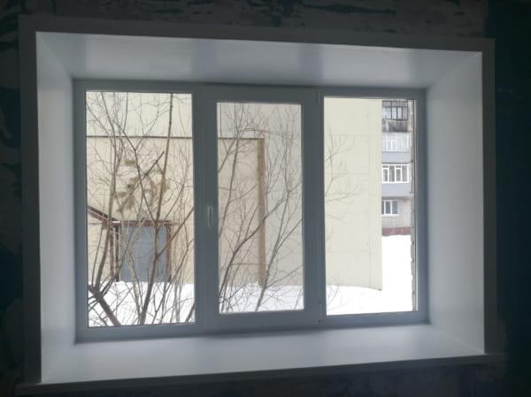 Установка пластиковых и деревянных окон в Архангельске